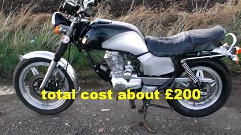How to build a cheap road legal motorcycle in two weeks ...
