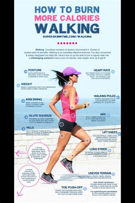 How To Burn More Calories Walking   Musely