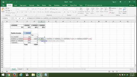 How to Calculate INCOME TAX in Excel Hindi   Advance Excel ...