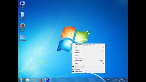 How to change desktop background  wallpaper    Windows 7 ...
