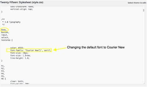 How to Change Fonts in WordPress   CSS Hero
