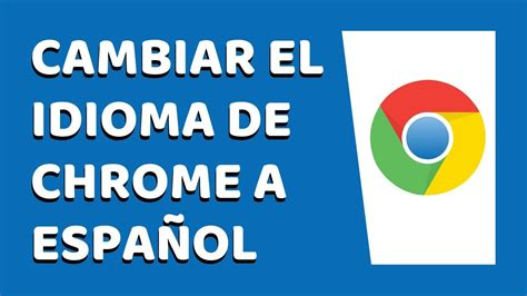 How to Change Google Chrome Language From English to ...