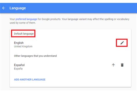 How to Change Language in Google