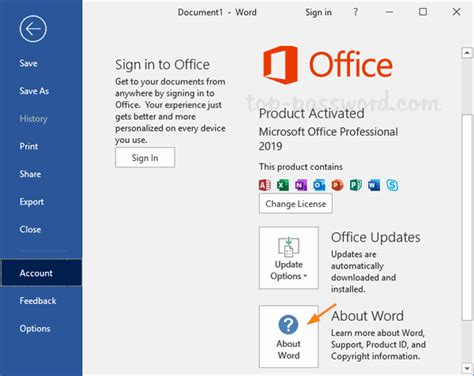 How to Change Language in Microsoft Office 2019 / 2016 ...