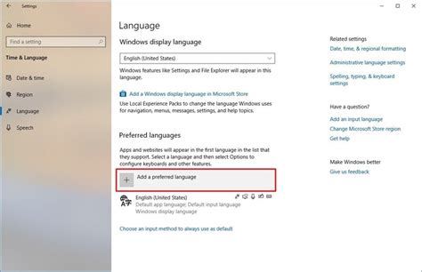 How to change system language on Windows 10 | Windows Central