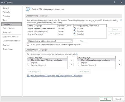 How to change the language of Microsoft Office   gHacks ...