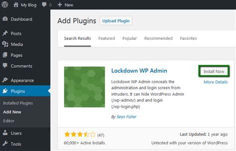 How to change your WordPress Admin URL   Hosting ...