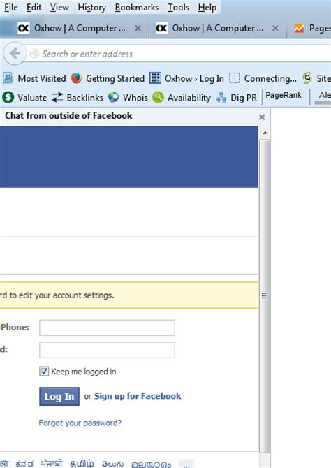 How To Chat From Outside of Facebook in Desktop