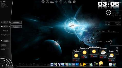 How to COMPLETLEY customize your desktop   YouTube