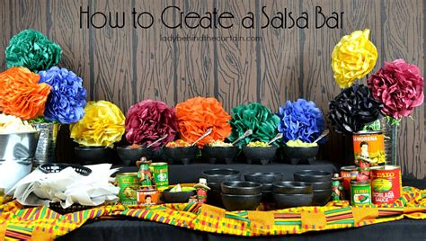 How to Create a Salsa Bar