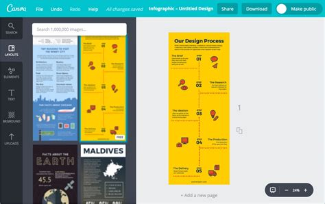 How to Create Free Infographic with Canva? » WebNots