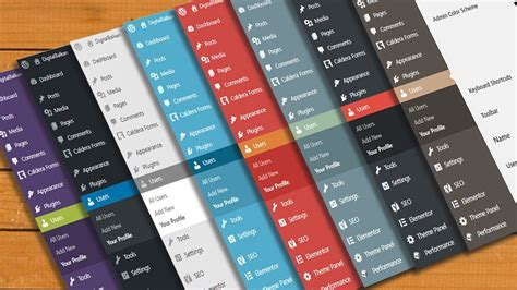 How To Customize WordPress Admin Dashboard Change Color in ...