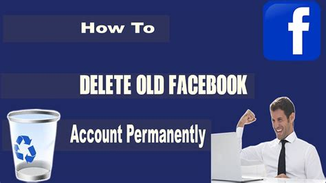 How To Delete Old Facebook Account Permanently   YouTube