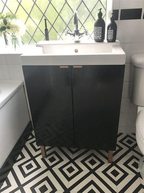 How To: DIY IKEA Hack Bathroom Sink Cupboard   Boo & Maddie