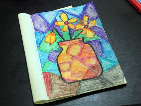 How to Do a Cubist Style Painting: 13 Steps  with Pictures
