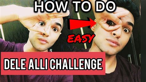 HOW TO DO THE DELE ALLI CHALLENGE  HAND CELEBRATION  EASY ...