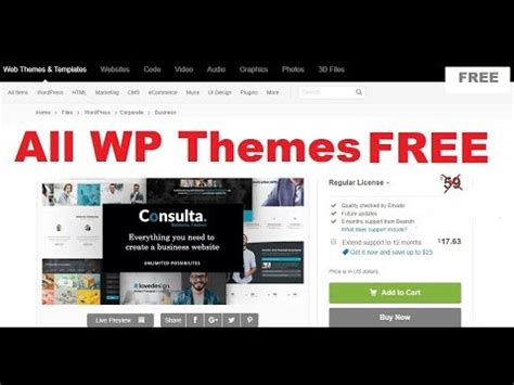 How to download WordPress Premium Themes FREE | Nulled ...