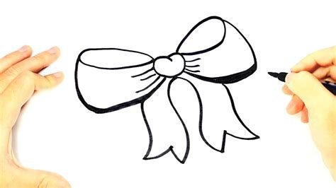 How to draw a Bow tie for Kids   Bow tie Easy Draw ...
