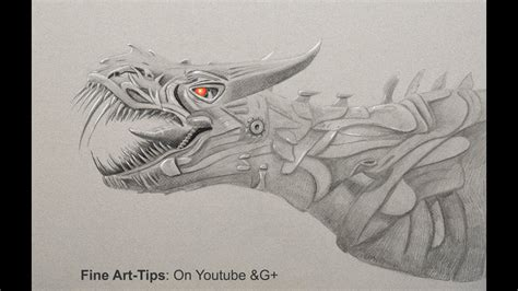 How to Draw A Dinosaur   Age of Extinction   YouTube