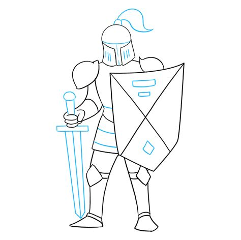 How to Draw a Knight   Really Easy Drawing Tutorial