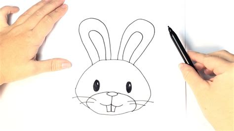 How to draw a Rabbit for Kids   YouTube