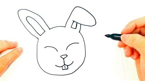 How to draw a Rabbit   Rabbit Head Easy Draw Tutorial ...