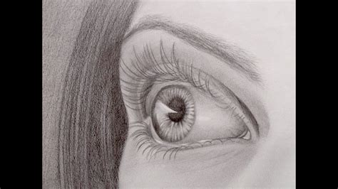 How to Draw a Realistic Eye in Perspective   YouTube