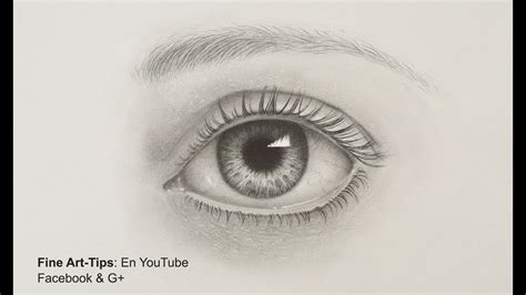 How to Draw a Realistic Eye   With Pencil  Drawing ...