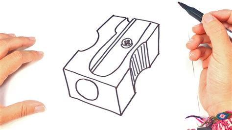 How to draw a Sharpener | Sharpener Easy Draw Tutorial ...