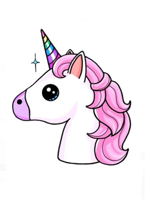 How to DRAW a UNICORN STEP by STEP Easy unicorn drawing guide