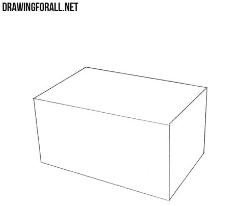 How to Draw an Open Box | Drawingforall.net