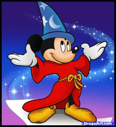 How to Draw Fantasia, Wizard Mickey, Step by Step, Disney ...