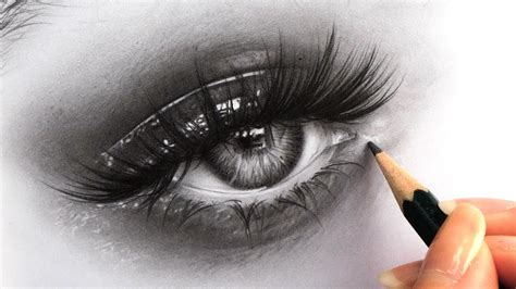 How to Draw Hyper Realistic Eyes   Tips for Drawing ...