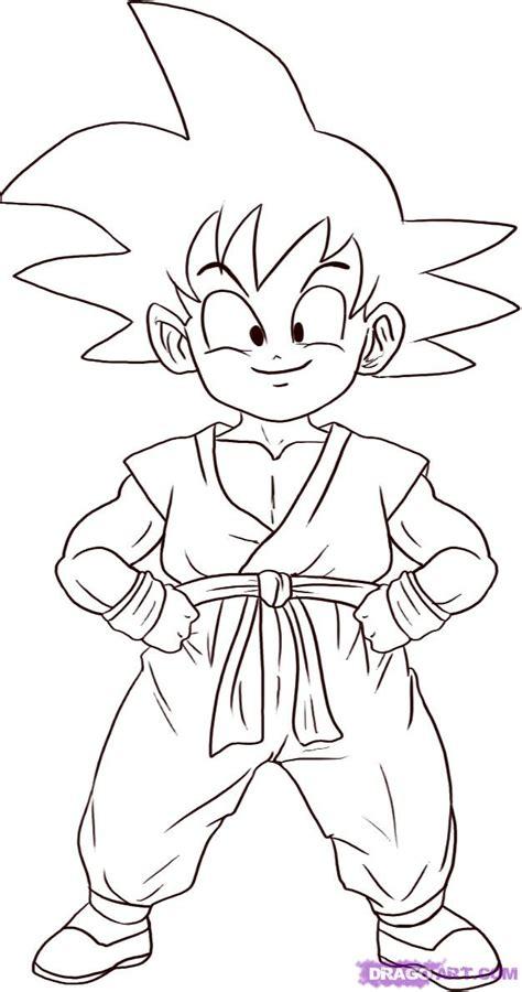 How to Draw Son Goku, Step by Step, Dragon Ball Z ...