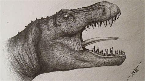 How to Draw Tyrannosaurus Rex / Cómo dibujar un ...