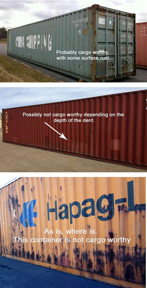 How to Estimate Shipping Container Grading and Conditions ...