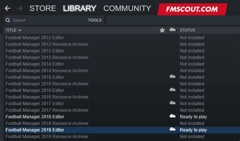 How to find & download the official FM19 Pre Game Editor ...