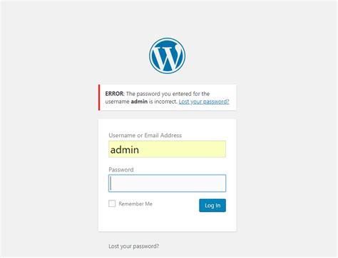 How to fix WordPress Admin Login Error | Themely