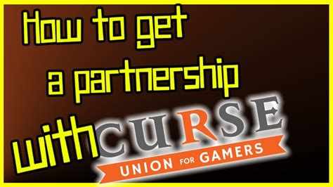 How to get a Partnership with Curse  youtube network ...