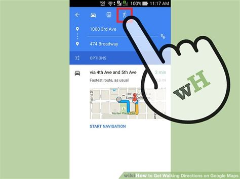 How to Get Walking Directions on Google Maps: 12 Steps