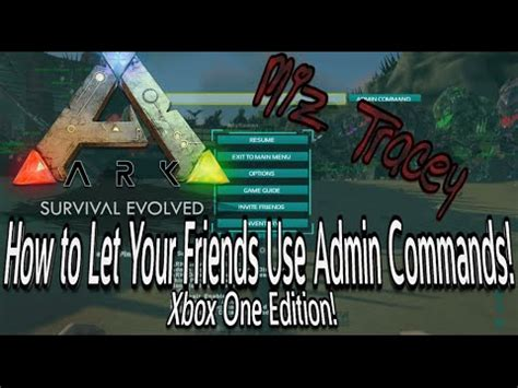 How to Give Admin Commands to Your Friends on Ark Survival ...