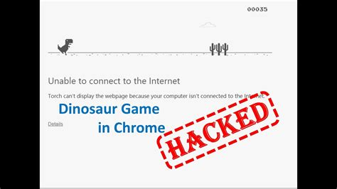 How to Hack Chrome s Offline Dino Game , The Best Video ...