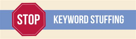 How to Identify and Avoid Keyword Stuffing | WebFX