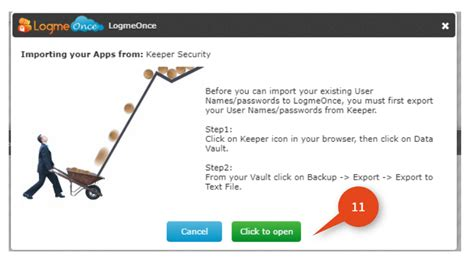 How to import your password from Keeper Security Vault ...