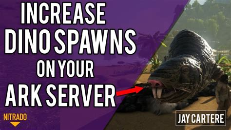 How To Increase Dino Spawns / Spawn Rates On Your ARK PS4 ...