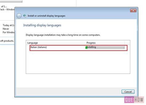 How to Install a Language Pack in Windows 7: 10 Steps ...