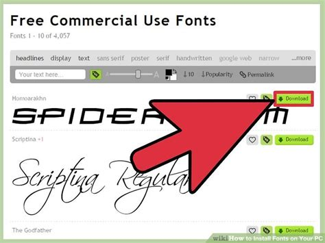 How to Install Fonts on Your PC: 9 Steps  with Pictures ...