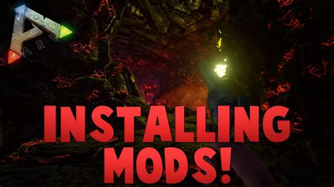 How To Install Mods In ARK Survival Evolved!   YouTube