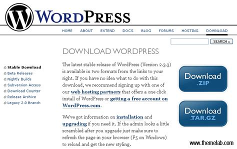 How to install the latest version of WordPress   IsItWP