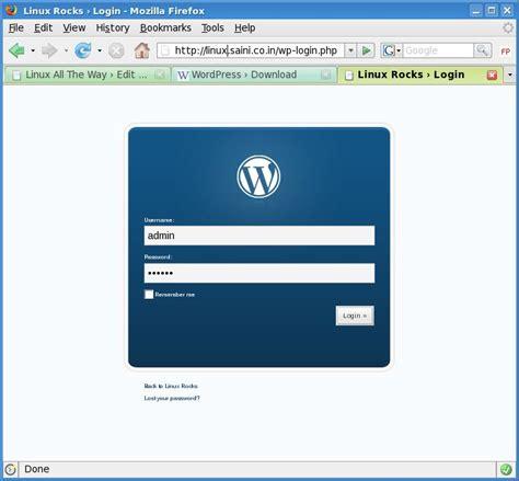 How To: Install WordPress on LAMP | Tech Stuff